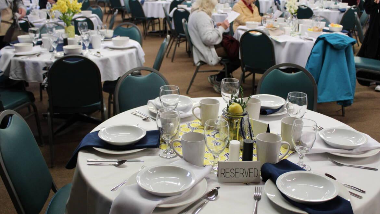Fundraiser Banquet Dinner